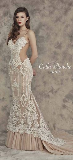 Calla Blanche Fall 2016 Wedding Dresses 1 | Deer Pearl Flowers