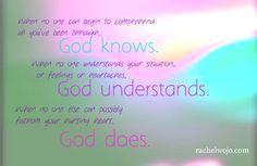 God does...