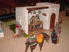 emilio m belenista Fiction And Nonfiction, Sunday School Crafts, Decorative Tile, Miniature Houses, Christmas Inspiration, Diorama, Cribs, Nativity, Christmas Decorations
