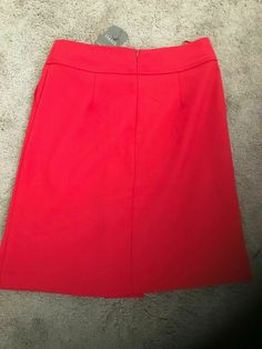 Brand New Oasis - Women's / Girls  Red Short Skirt Size 8 #Oasis #ALine #AnyOccasion