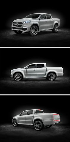 With the Concept X-CLASS, Mercedes-Benz gives a concrete outlook on its new pickup, the X-Class.