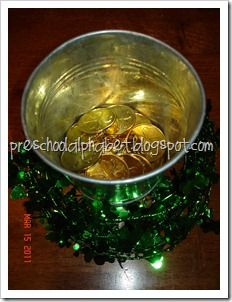 Gold for St. Patrick's Day