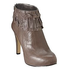 Greige Parkside booties from Nine West, $139