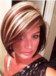 Chunky Highlights on Short Hair-Short Hair with Highlights