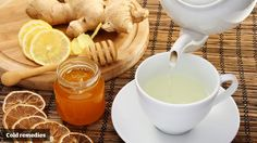 HONEY, GINGER AND LEMON TEA    This trick is more to relieve symptoms than prevent them. Honey is known as a natural antibacterial and antiseptic and coats the throat to soothe dry or sore throats. Lemon is thought to be antibacterial and has a high amount of vitamin C, and ginger is hot and spicy and is traditionally used to stimulate the immune system and reduce inflammation. Place a one-inch chunk of peeled ginger with a squeeze of half a lemon and a spoonful of honey in boiling hot water...