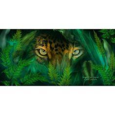 "Wallhogs Cavalaris Jungle Eyes Jaguar Wall Mural Size: 35.5"" H x 72"" W"
