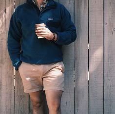 "Saturday Vibes: Copeland - ""Coffee"" // Fleece: Patagonia + Shorts: J.Crew + Shirt & Bracelet: Kiel James Patrick // IG: @jeffdepano"