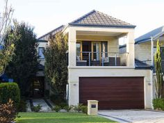 Bassendean - 3036 – Custom designed home on a narrow block front ...