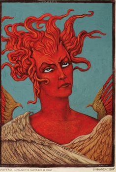 Lucifero Canto XXIX, Alberto Martini, via spiritual alchemy
