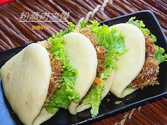 田园时光美食  粉蒸肉夹馍(Chinese Hamburger)