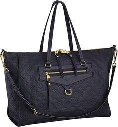 3831783d07acc Louis Vuitton - Monogram Empreinte - Lumineuse GM - RIONI ®. Torebki Louis  Vuitton