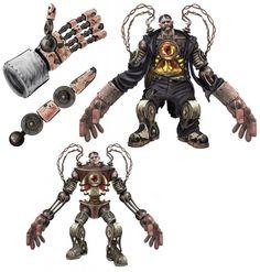 Bioshock Infinite - Handyman Character Art