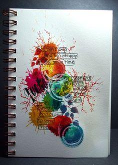 Eileen's Crafty Zone: Art Journal