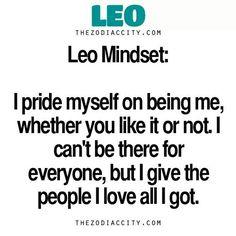 Leo Mindset