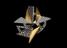 KAVANT & SHARART  Diamond Ring Origami art collection www.kavantandsharart.com