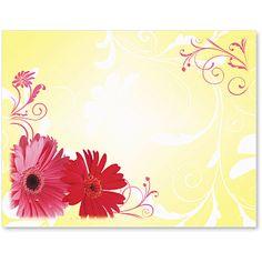 Dancing Daisies Postcards | PaperDirect