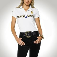 Ralph Lauren Women BLACK WATCH White Polo http://nikeshoesoutlet.blogspot.com/