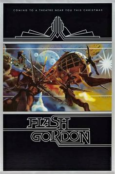 FLASH GORDON (1980) Hawkmen Teaser Art