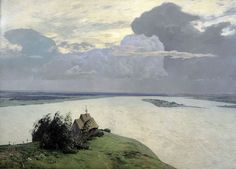 Above the Eternal Tranquility, Issak Levitan (1894).