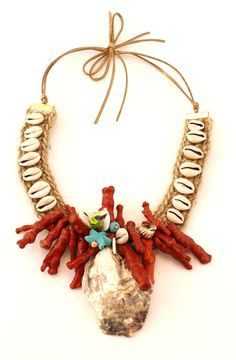 Shell Jewelry, Pearl Jewelry, Diy Jewelry, Jewelery, Beaded Necklace Patterns, Shell Art, Homemade Jewelry, Diy Accessories, Shells