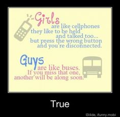 Gender differences...