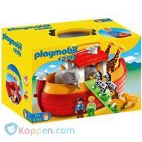 PLAYMOBIL 1.2.3 Meeneem Ark van Noach - 6765 -  Koppen.com