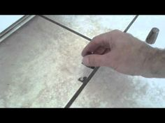 If you have ceramic glazed tile and cracks here is an easy fix. Find ...