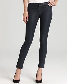 J Brand Jeans - 901 Super Skinny Coated in Turbulent Patriot - Denim - Apparel - Women's - Bloomingdale's