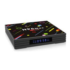 H96 H2 MAX RK3328 4GB RAM 64GB ROM 5G WIFI Bluetooth 4.0 USB3.0 Android 7.1 TV Box with Time Display Sale - Banggood.com Sierra Leone, Quad, Uganda, Android Tv, Wifi, Video 4k, Tv Box, Mini Pc, El Salvador