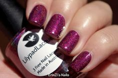 Queen of Halloween by Lilypad Lacquer.  Thank you Jody! :D