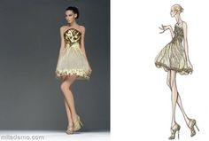 From Sketch to Dress   Fashion Design