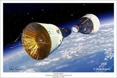 When the first Agena Target Vehicle exploded during launch, the Gemini VI mission was left without a rendezvous target. It was soon determined however t. Nasa Missions, Apollo Missions, Nasa Space Center, Project Gemini, Nasa Space Program, Nasa History, Space Facts, Nasa Astronauts, Space And Astronomy