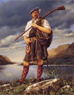 Scotish Warrior of the Jacobite rebellion of 1740s!!