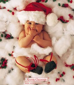 Christmas card Idea for babies first Christmas........