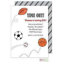 86 Best Sports Invitations Images
