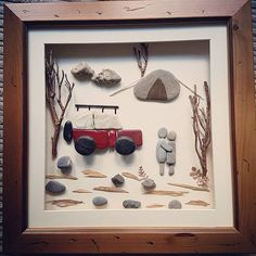 Camping in the countryside #camping #landrover #countrysidelife #pebbleart