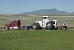 Big Bud on the move Crop Farming, Lowboy, Big Trucks, Monster Trucks, Vehicles, Buses, Beast, Iron, Trucks