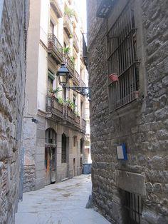El Call, antic barri jueu. Barcelona (Catalunya - Catalonia)
