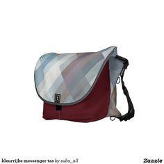 kleurrijke messenger tas messenger bag