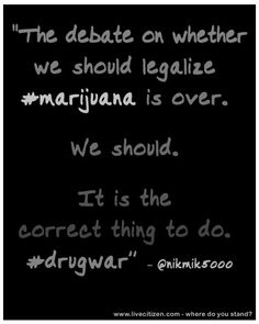 Essay on Whether or Not Marijuana Should be Legalized
