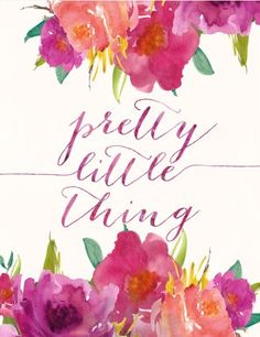 Pretty little thing.