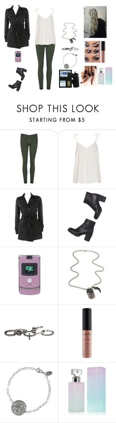 """""""Angelica #6"""" by jazmine-bowman on Polyvore featuring Brave Soul, Monki, Motorola, David Yurman, maurices, F, NYX, Nashelle and Calvin Klein"""