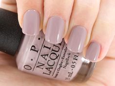My new fave polish! OPI Nail Lacquer in Taupe-less Beach