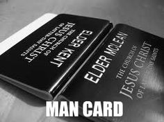 I want to marry a righteous return missionary with one of these man cards. #DeseretBookPinWish