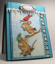 house mouse christmas | Happy House Mouse Christmas Memories | house mouse stamps &coloring