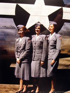 Typical Red Cross girls overseas. England