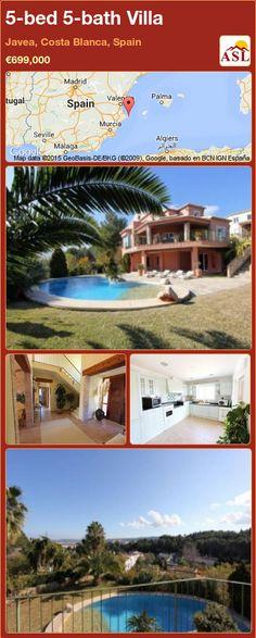 5-bed 5-bath Villa in Javea, Costa Blanca, Spain ►€699,000 #PropertyForSaleInSpain