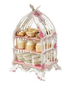 Look what I found on #zulily! Truly Scrumptious Birdcage Cake Stand by Talking Tables #zulilyfinds