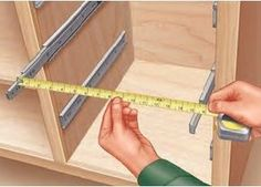 Measure and Install Drawer Slides First When Building Drawers by twila