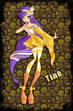 Tine Halloween by Other-Fairies.deviantart.com on @DeviantArt